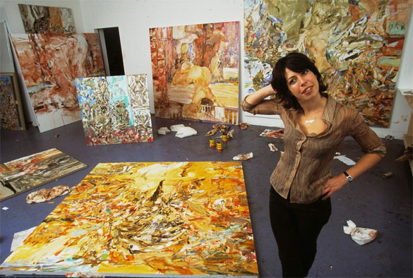 Cecily Brown Artist Studio